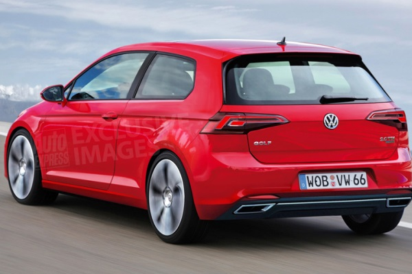 Noul VW Golf 8 primele poze Auto Express