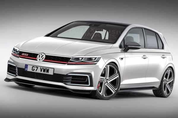 Noul VW Golf GTI poze
