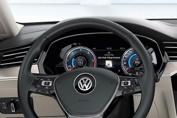 Noul VW Passat 2014 bord