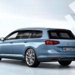 Noul VW Passat 2014 break spate