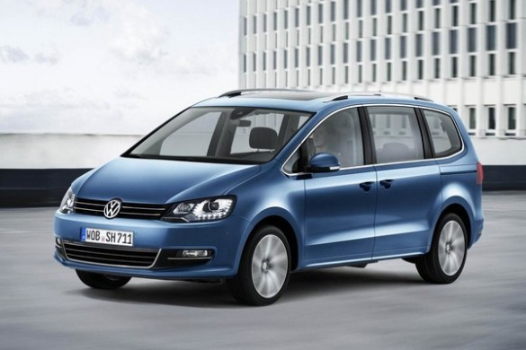 Noul VW Sharan 2015 facelift blocuri optice