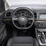 Noul VW Sharan 2015 facelift ceasuri de bord