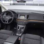 Noul VW Sharan 2015 facelift interior sistema de multimedia