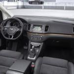 Noul VW Sharan 2015 facelift interior sistema de multimedia