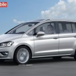 Noul VW Touran 2015 lateral