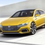 Noul Volkswagen Arteon sport coupe concept gte