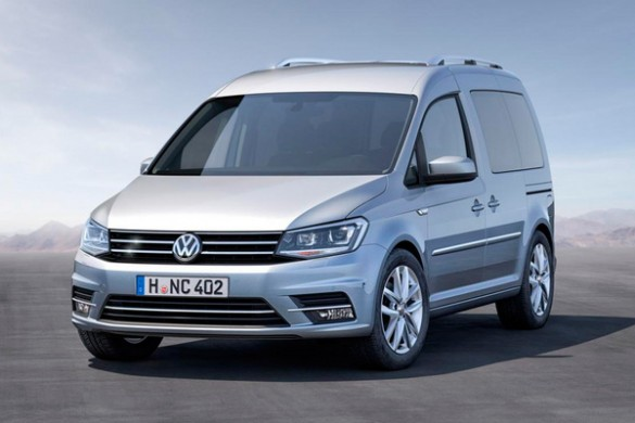 Noul Volkswagen Caddy fata