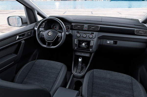 Noul Volkswagen Caddy interior