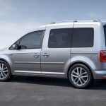 Noul Volkswagen Caddy lateral