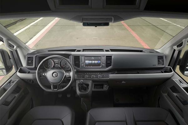 Noul Volkswagen Crafter foto interior