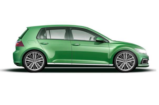 Noul Volkswagen Golf 8 - schita Autocar 2