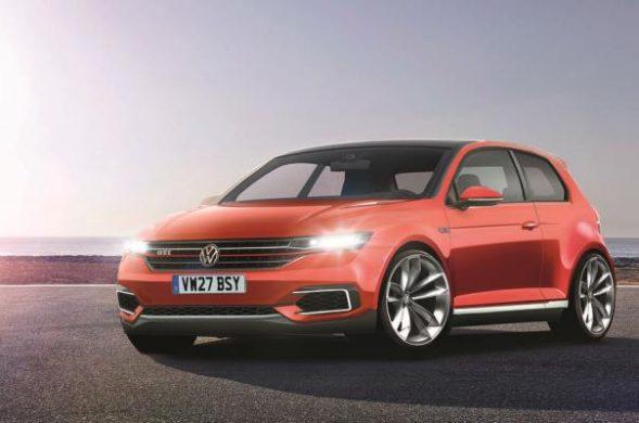 Noul Volkswagen Golf 8 - schita Autocar