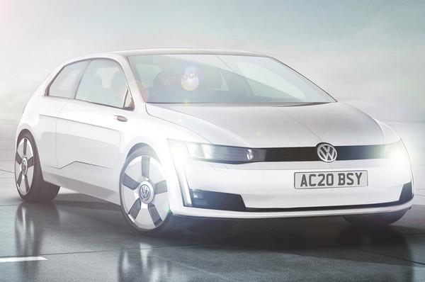 Noul Volkswagen Golf 8 schita