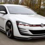 Noul Volkswagen Golf GTI Concept fata