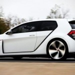 Noul Volkswagen Golf GTI Concept lateral
