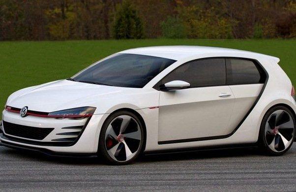 Noul Volkswagen Golf GTI Concept