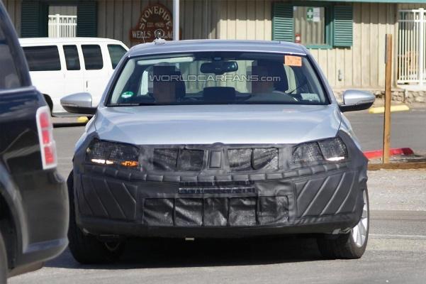 Noul Volkswagen Jetta facelift 2014 fata