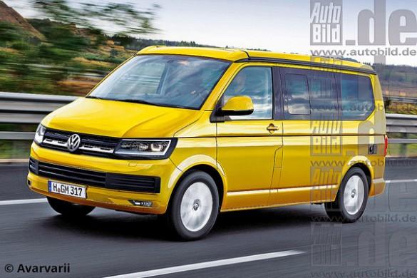 Noul Volkswagen Multivan 2015