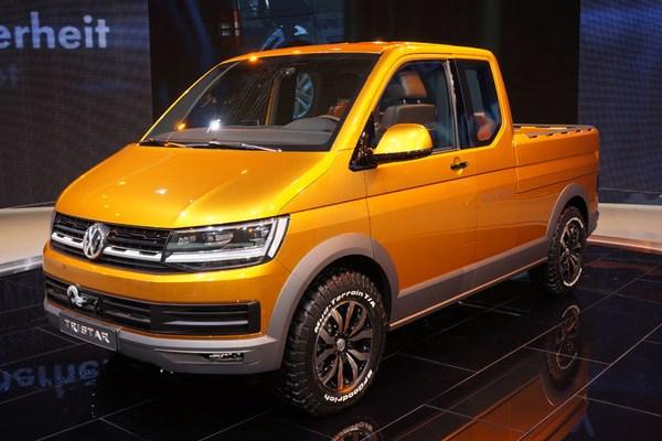 Noul Volkswagen Multivan 2015 - conceptul Tristar