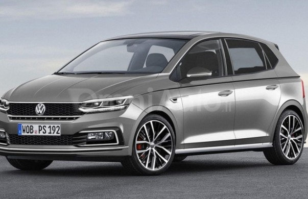 Noul Volkswagen Polo 2017 - schita
