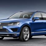 Noul Volkswagen Toureg facelift 2014