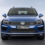 Noul Volkswagen Toureg facelift 2014 fata