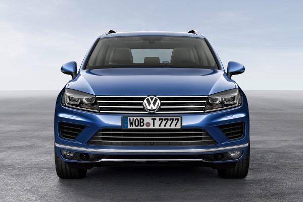 Noul Volkswagen Touareg facelift 2014 fata