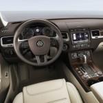 Noul Volkswagen Toureg facelift 2014 interior