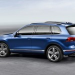 Noul Volkswagen Toureg facelift 2014 lateral