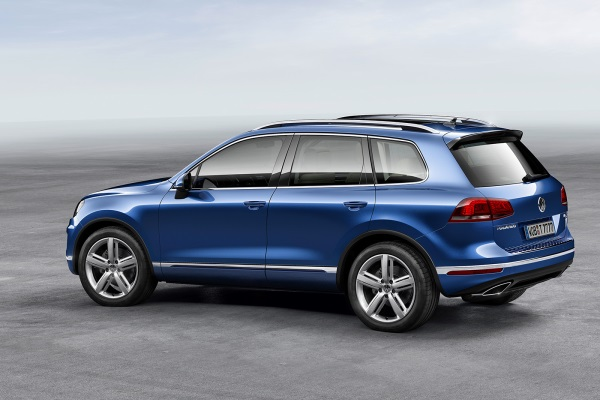 Noul Volkswagen Touareg facelift 2014 lateral