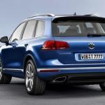 Noul Volkswagen Toureg facelift 2014 spate