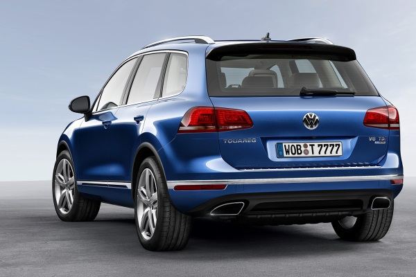Noul Volkswagen Touareg facelift 2014 spate