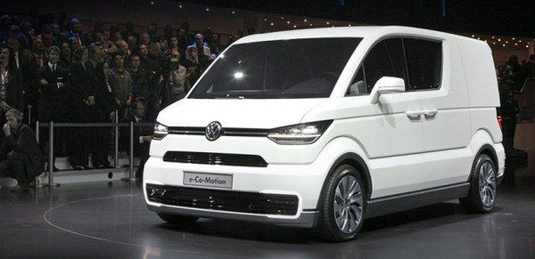 Noul Volkswagen Transporter T6 conceptul E Co Motion