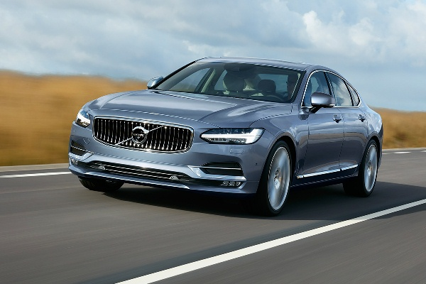 Noul Volvo S90 foto imagini