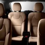 Noul Volvo XC90 2014 interior spate