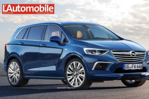 Noul Zafira 2016 - imagine exclusiv L'Automobile Magazine