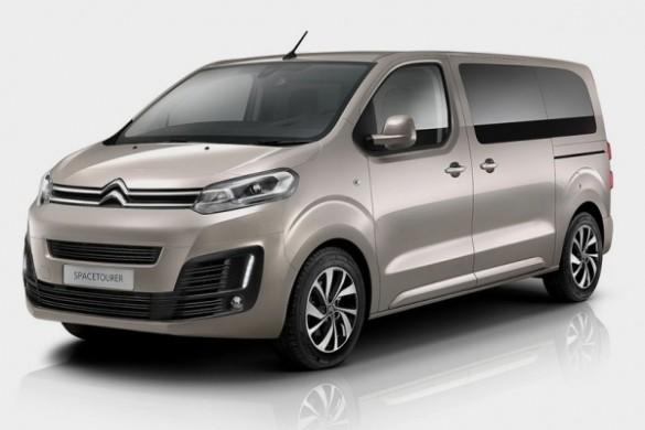 Noul minivan Citroen SpaceTourer 2016
