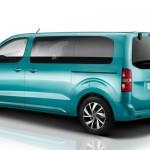 Noul minivan Citroen SpaceTourer 2016 spate