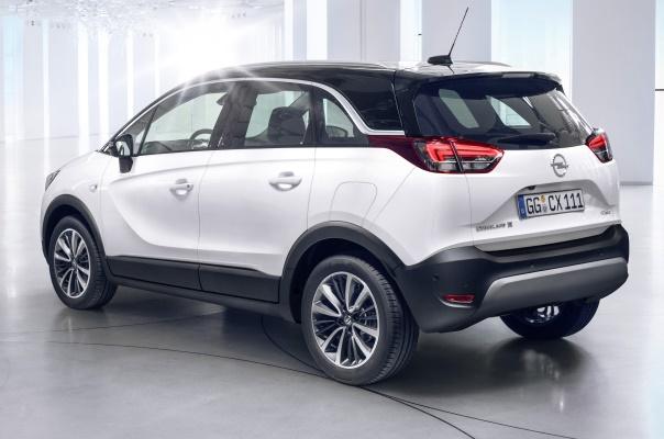 Opel Crossland X 2017 spate