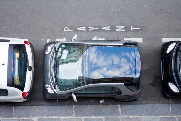 Parcarea laterala simbol