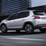 Peugeot 2008 2016 facelift foto lateral