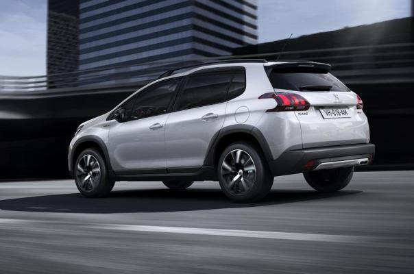 Peugeot 2008 2016 facelift foto lateral