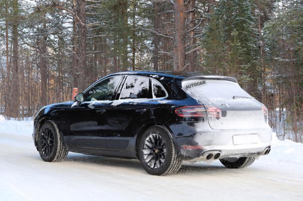 Porsche Macan 2018 facelift spate