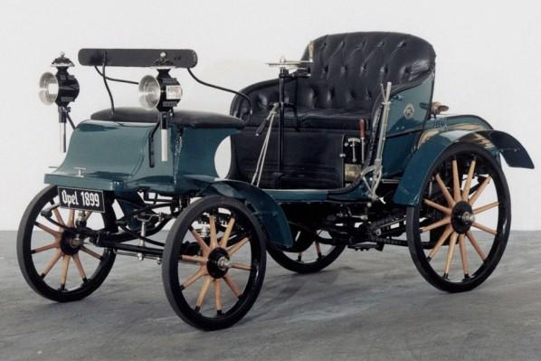 Primele masini - Opel 1899