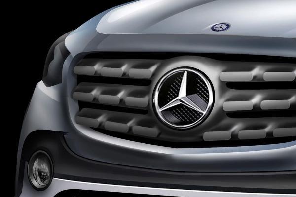 Primul pickup Mercedes foto