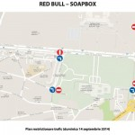 Red Bull Sopabox 2014 - harta restrictii trafic