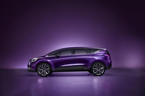 Renault Initiale Paris - concept pentru noul Renault Espace 2014 lateral