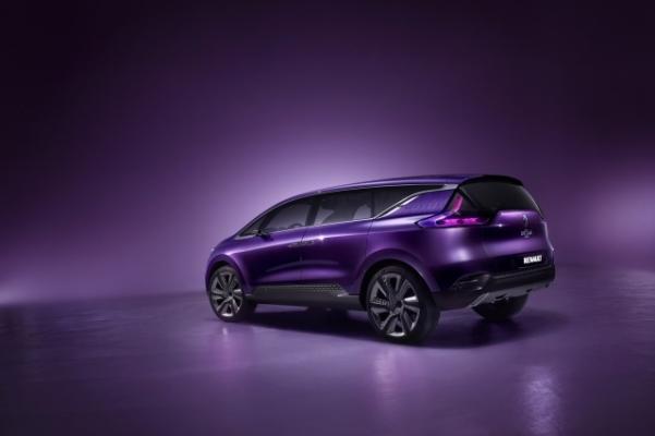 Renault Initiale Paris - concept pentru noul Renault Espace 2014 spate