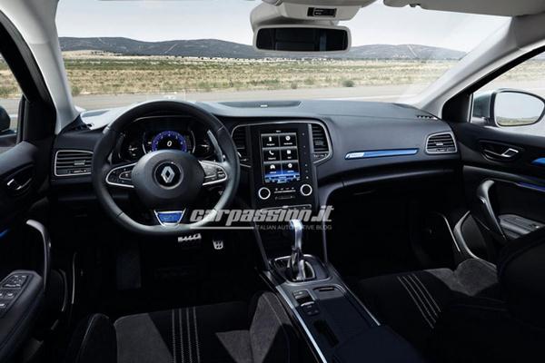 Renault Megane 2015 interior