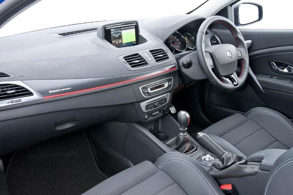 Renault Megane GT220 2015 interior